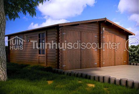 Houten Garage Zuid Holland 6x6m 45mm Tuinhuiscom